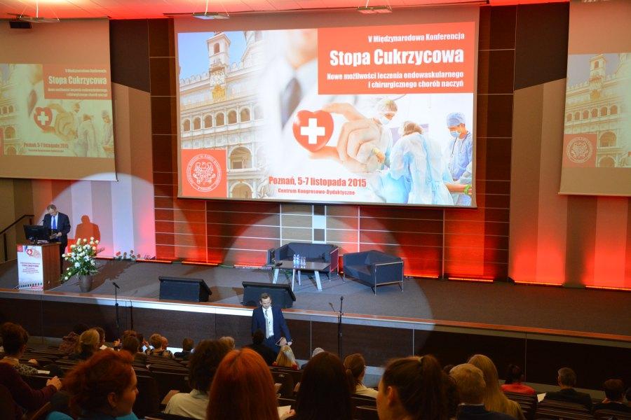 Foto-relacja z V Międzynarodowej Konferencji STOPA CUKRZYCOWA – Poznań 2015